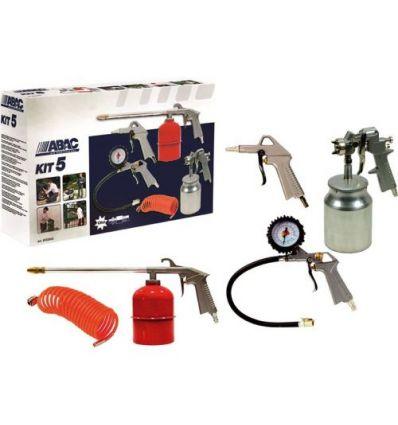 Kit pistolas pintar 5 piezas 8973005546 de abac