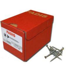 Torni.fadis galva c/p 4,0 20x035 de fadis caja de 1000 unidades