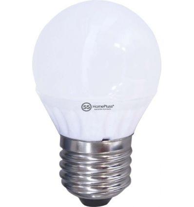 Lampara esferica led e27 7,5w 4200k de marca caja de 5 unidades