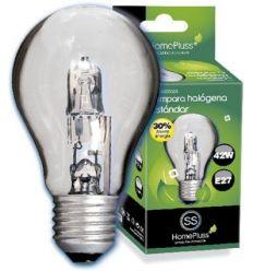 Lampara halogena sta clara e27 70w(100w) de marca caja de 10