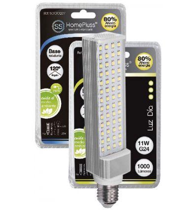Lampara pl led e27 11w 6000k 230v de marca caja de 5 unidades
