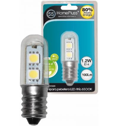 Lampara led pebetero 1,2w 6400k 230v de marca