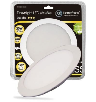 Downlight plano led 20w 6000k niquel sat de marca