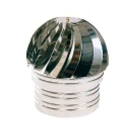 Sombrerete extractor ghibli inox 120mm de dakota