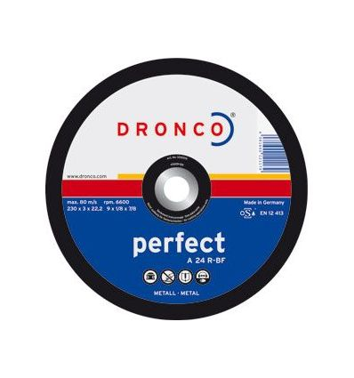 Disco dronco a24r 115x3,0x22,2 c.metal de dronco caja de 25