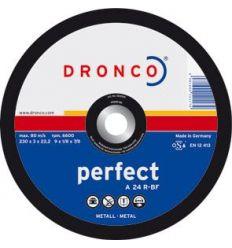 Disco dronco a24r 230x3,0x22,2 c.metal de dronco caja de 25