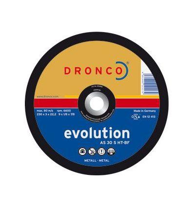 Disco dronco as30s-ht 230x3,0x22,2 c.met de dronco caja de 25