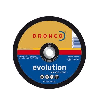 Disco dronco as30s-ht 230x3,0x22,2 c.met de dronco caja de 25