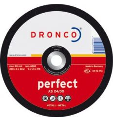 Disco dronco a24/30p 115x6,0x22,2 desbas de dronco caja de 10