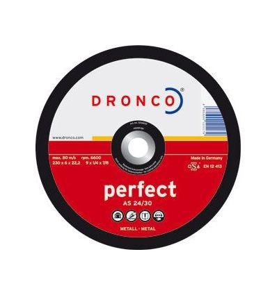 Disco dronco a24/30p 180x6,0x22,2 desbas de dronco caja de 10