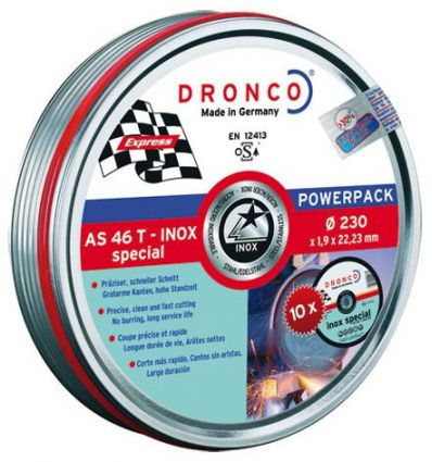 Disco dronco as46tinox 230x1,90x22,2pack de dronco
