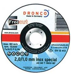 Disco dronco as60t inox 115x2/1x22,2pack de dronco