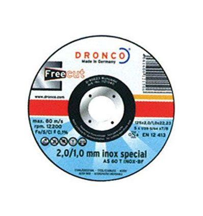 Disco dronco as60t inox 115x2/1x22,2pack de dronco