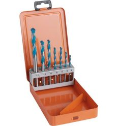 Set brocas widia multi.4-5-6-6-8-10-12mm de hawera