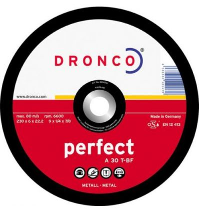 Disco dronco a30t 230x6,0x22,2 debastes de dronco caja de 10