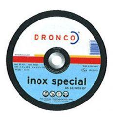 Disco dronco as30inox 180x2,5x22,2 de dronco caja de 25 unidades