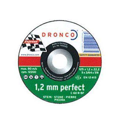 Disco dronco c46r 230x1,9x22,2 c.piedra de dronco caja de 25