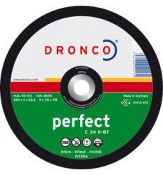Disco dronco c24r 115x3,0x22,2 c.piedra de dronco caja de 25
