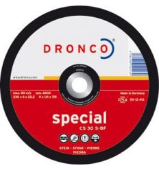 Disco dronco cs30s 115x6,0x22,2 desbaste de dronco caja de 10