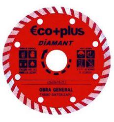 Disco diamante turbo e+p 125x7 blister de abratools