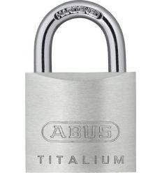Candado titalium an 54ti/25 de abus caja de 12 unidades