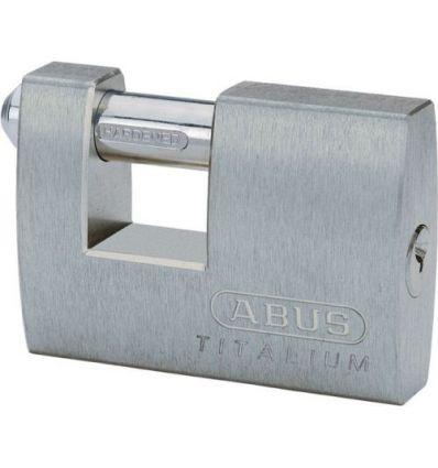 Candado titalium recta.monoblock 82ti/70 de abus caja de 6