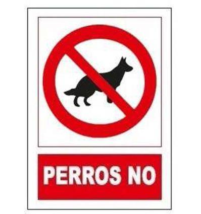 Señal prohibido perros no sp864 de jg señalizacion