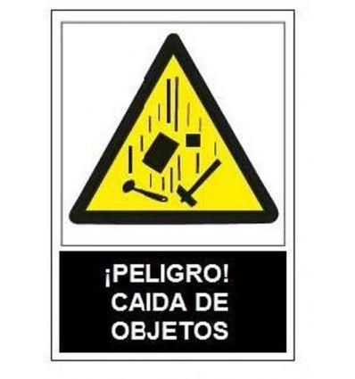 Señal adv.peligro caida objetos sa1017 de jg señalizacion