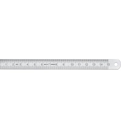 Regla flexible ac.inox.satina 1010020030 de vogel