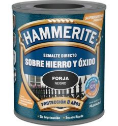 Hammerite metalico forja 750ml negro de hammerite caja de 6