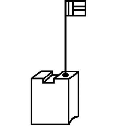 Escobillas 2 piezas 1999.03 dewalt de asein caja de 10 unidades