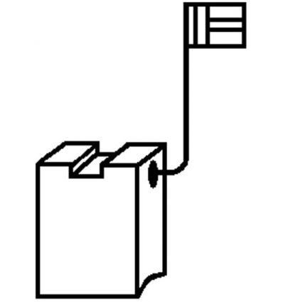 Escobillas 2 piezas 0220 b&d/dewalt de asein caja de 10 unidades