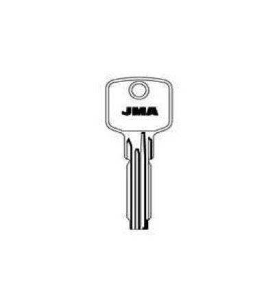 Llave jma laton seguridad aga-12 de j.m.a caja de 10 unidades