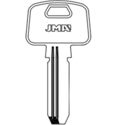 Llave jma laton seguridad mcm-16e8 de j.m.a caja de 10 unidades