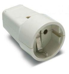 Base 2101 ttl blanco 16a-250v de famatel caja de 30 unidades