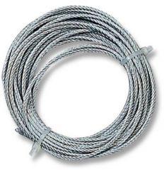 Cable acero galv.2mm 6m p/torno 06129002 de gaviota simbac