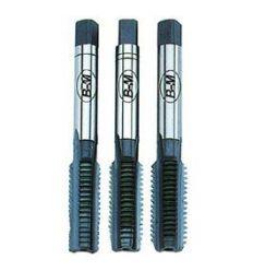 Jgo.3 pzas. machos hss m10x1,50 de bluemaster