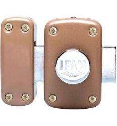 Cerrojo b5.50hp con cilindro latonado de ifam