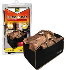 Bolsa p/leña 231308 32x56x32 de fuego net