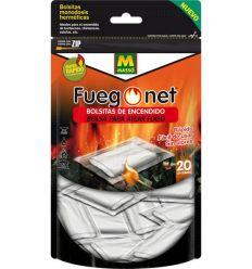 Bolsas de encendido 231395 20unid. de fuego net caja de 10