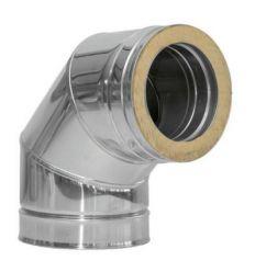 Codo dp inox 304 90º 200mm de dinak