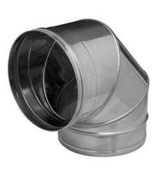 Codo sp/sw inox 304 90º 130mm de dinak
