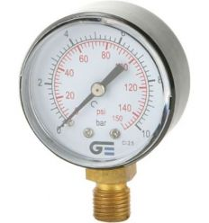 Manometro radial 3820-10 0-10b-0.150psi de genebre