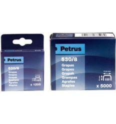 Grapas cobreadas 530/12-1200-77516 de petrus