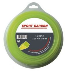 Hilo nylon cua.c3015/npm30015q/a 3mmx15m de sport garden
