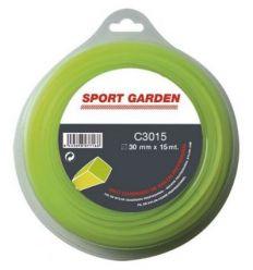 Hilo nylon cua.c3050/npm30050q/a 3mmx50m de sport garden