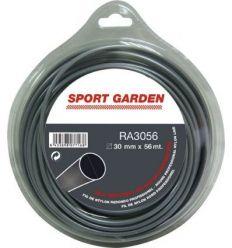 Hilo aluminio redondo ra3056 3mmx56m de sport garden