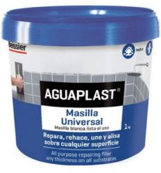 Aguaplast masilla universal 813-01kg de beissier caja de 12