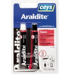 Araldite rapido 510207 15+15ml blister de ceys caja de 6