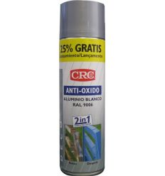Spray antioxido plata ral 9006 500ml de c.r.c. caja de 6